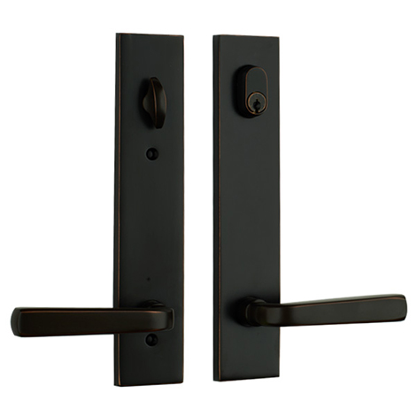 Modern Sion Lever in Oil Rubbed Bronze