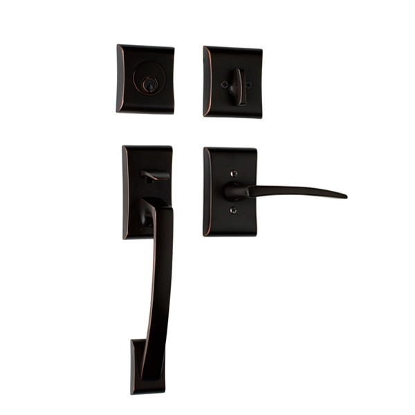 Ares with Poseidon Lever in Oil Rubbed Bronze