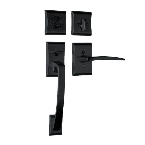 Ares with Poseidon Lever in Flat Black