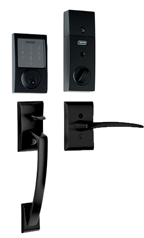 Ares Poseidon Lever in Flat Black